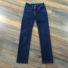 Womens Next Size 8 Lift Slim & Shape Straight Dark Blue Jeans Ladies Pockets