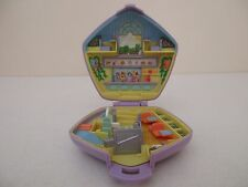 POLLY POCKET Playset - FAST FOOD RESTAURANT - Bluebird Toys 1992