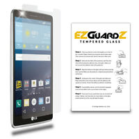 2-Pack EZguardz Premium Tempered Glass Screen Protector For LG G Stylo
