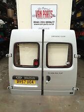 LDV Maxus minibus camper REAR DOORS pair glazed semi high top in silver complete