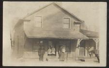 RP Postcard AKRON/BRITTAIN Ohio/OH  Local Area Family Grocery Store 1910's