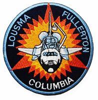 """STS 3 NASA Shuttle Columbia 4"""" Mission Crew Space Patch"""