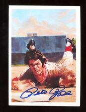 Pete Rose Autograph Signed 1985 Topps Renata Galasso #10 Reds