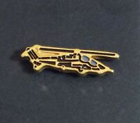 Airbus TIGER HAD Helicopter Gold Color Pin NEW Military Tie Hat Lapel