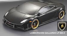 1/10 Lexan Body Shell Lamborghini Gallardo carrosserie (Clear + décalques)