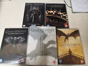 Game of Thrones series 1-5 DVDs