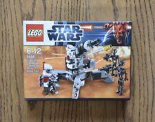 Lego 9488 Star Wars Elite Clone Trooper & Commando Droid Battle Pack Brand New
