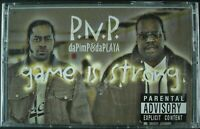 "P.N.P. DA PIMP & DA PLAYA ""GAME IS STRONG"" 2001 CASSETTE TAPE ~RARE~ *SEALED*"
