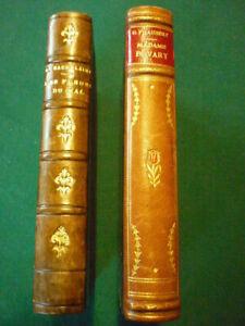 Lot de 2 livres anciens: Baudelaire - Flaubert.