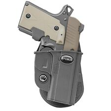 Fobus Evolution Holster Kimber Micro, Micro 9, Sig P238, P938 9mm, Paddle, Right