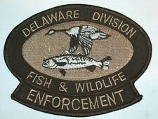 DELAWARE FISH & WILDLIFE POLICE PATCH