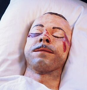 John Dillinger death mask from the Cook County Morgue 3 days after his death COL