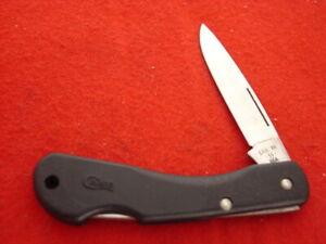 """Case USA made 3-1/8"""" Lockback 059L SSP Lock Blade Knife MINT"""
