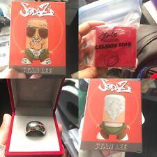 Sodaz Stan Lee Figure Nerd Block Exclusive + Stan Lee Excelsior Replica Ring LE