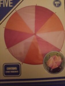 6 Foot Play Parachute- Multicolored Parachute for Kids New In Box