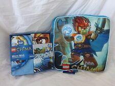3 pc Lego Chima Extreme Battle Micro Mink Twin Sheet & Deco Pillow Set NIP