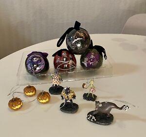 Nightmare Before Christmas Ornaments Lot / Balls / Figures / Disney / Hawthorne