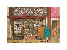 Picking Out Something Special Sam Toft Dog Art Print 16x12