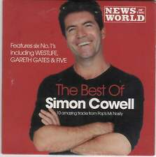 SIMON COWELL: THE BEST OF - PROMO CD (2003) GARETH GATES, ROBSON & JEROME, FIVE+