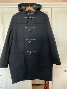 """ORIGINAL MONTGOMERY (MADE FOR HEROES) Black Duffle Coat 38"""" Chest."""