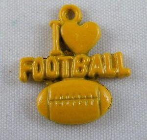 25pcs Tibetan Silver Yellow/Green Enamel Football Charms 18.5x21x3mm 14125