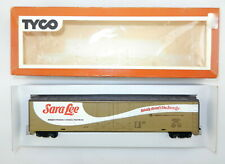 Tyco HO 960A Sara Lee ERDX 10061 62' ft Reefer Car ~Very Nice~ T114