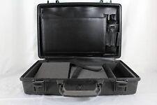 Pelican Case 1490 Hard Shell Laptop Computer Case Black Medium Size Customizable