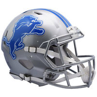 DETROIT LIONS NEW 2017 RIDDELL NFL FULL SIZE AUTHENTIC SPEED FOOTBALL HELMET