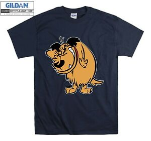 Muttley Dog Smile Mumbly Wacky Races T-shirt T shirt Men Women Unisex Tshirt 836