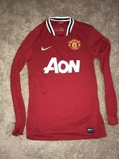 Nike Manchester United Jersey Mens Small 2011/2012 Long Sleeve Premier League