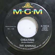 Rock 45 The Animals - Cheating / Don'T Bring Me Down On Mgm