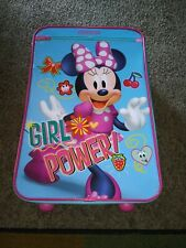 """New American Tourister Kids 18"""" Upright, Disney Minnie Mouse Suitcase NWT"""