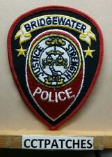 BRIDGEWATER, NEW JERSEY POLICE SHOULDER PATCH NJ