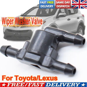 For Toyota 85321 28020 Tee T 3 Way Windscreen Washer Non Return Valve Check Hose