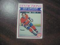 GUY LAFLEUR 1982 O-PEE-CHEE HOCKEY CARD #187 RAZOR SHARP