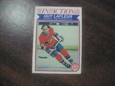 GUY LAFLEUR 1982 O-PEE-CHEE HOCKEY CARD #187 RAZOR SHARP