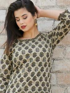 Bollywood Designer Heavy Sequence Worked Printed Kurti With Pant Set Dress.