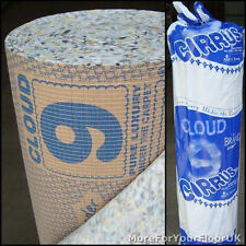 Cloud 9 Cirrus 9mm Thick PU Carpet Underlay Rolls UK Manufactured | Any Size
