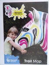 Zany Zebra Trail Map Southampton 2016 - Sculptures, Locations, Artists, Sponsors