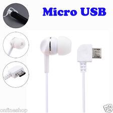 2pcs Universal Micro USB Mono Single Stereo Earphone for Bluetooth Headphone HOT
