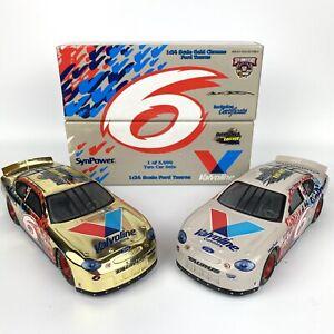 Racing Champions 1:24  Mark Martin #6 Valvoline Daytona Pepsi 400 1998 2 Car Set