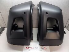 Toyota Tundra 14-17 Unpainted L & R Front Bumper End Caps w/ Sonar Genuine OEM