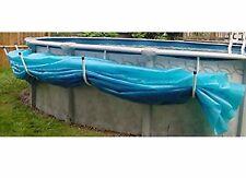 Aboveground Swimming Pool Solar Blanket Cover Saddle - Set of 5 Brackets