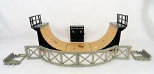 TECH DECK SKATE PARK HALF PIPE RAMPS PLATFORMS BOARD HOLDER GRIND RAIL LOT R34