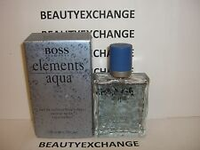 Boss Elements Aqua Hugo Boss For Men Cologne EDT Spray 3.3
