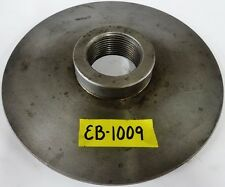 "9-1/4"" Lathe Chuck Adapter Plate 2-1/4"" – 8 Spindle Thread 1/2"" Thickness"