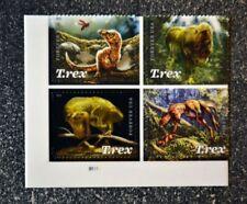 2019USA Forever - Tyrannosaurus Rex - Plate Block of 4  Mint  dinasour t