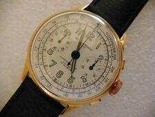 baume & mercier chronograph swiss made oversize rare vintage watch da uomo