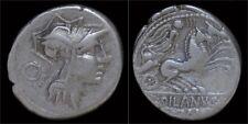 D.Silanus L.f Ar denarius