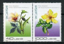 Albania 2018 MNH Albanian Flora 2v Set Flowers Plants Nature Stamps